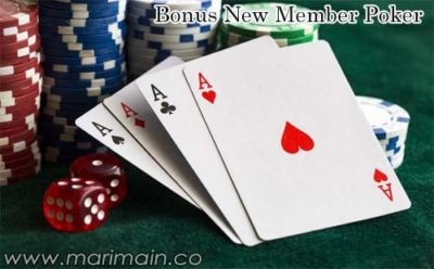 Bonus New Member Poker